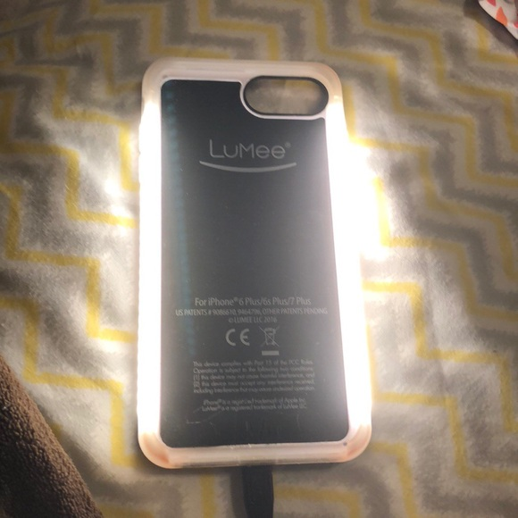 new product a6093 d1b01 Lumee light up Case iPhone 8 Plus